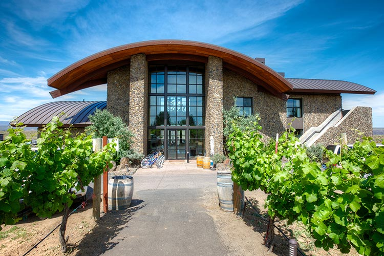Cave B Estate Winery is an award-winning boutique winery located in the Ancient Lakes of Columbia Valley AVA (American Viticultural Area).