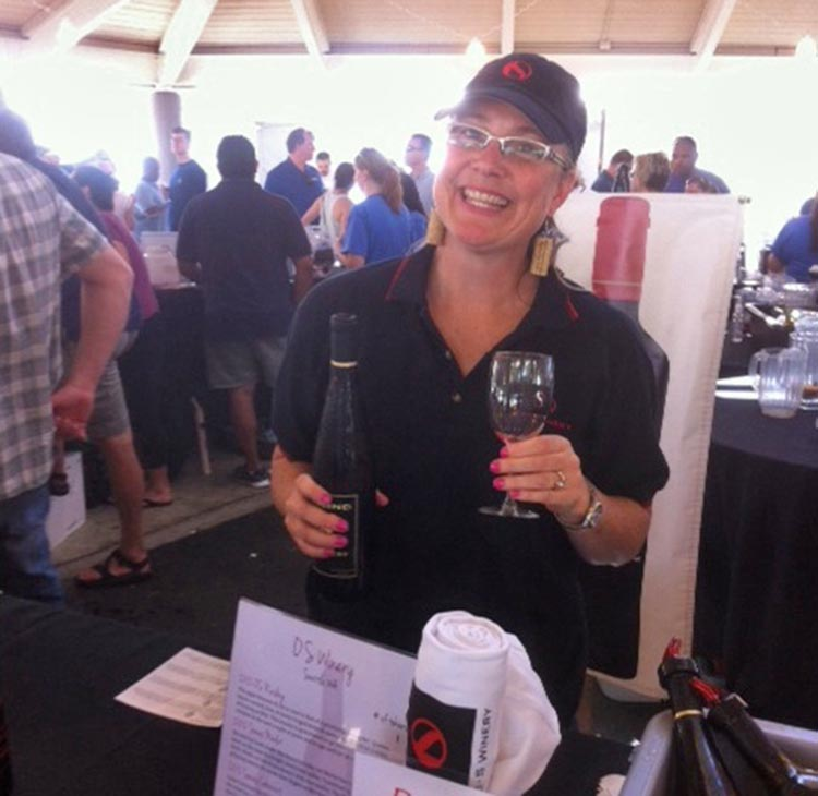 Owner Peggy Sullivan of OS Winery