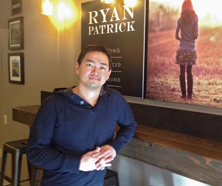 Winemaker Jeremy Santos of Ryan Patrick Wines
