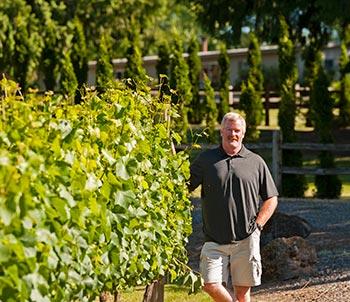Dan Andersen of Three Brothers Vineyard & Winery
