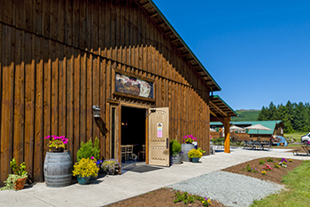 Moulton Falls is a destination winery in Yacolt