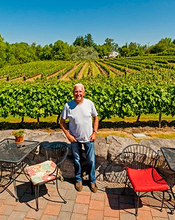 Walt House is the visionary behind the success of Bethany Vineyard & Winery