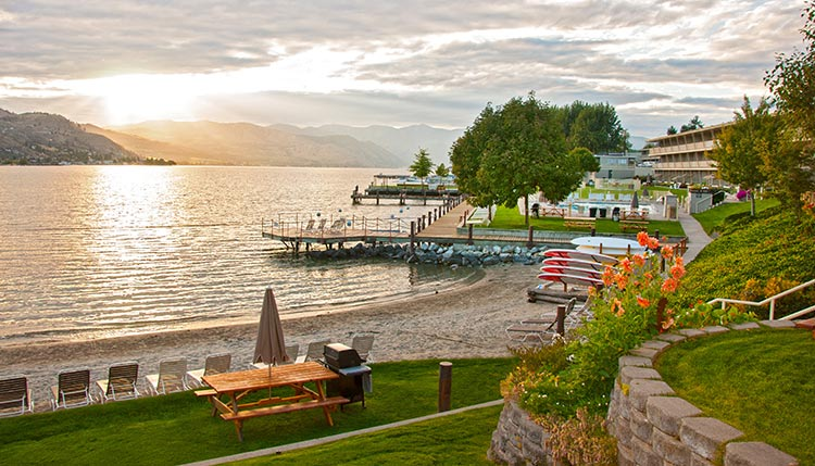 Campbell's Resort on the shores of Lake Chelan makes an ideal base camp, providing easy access to wineries on both sides of the lake