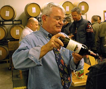 Dr. Myles Anderson helped found and create the groundbreaking wine program
