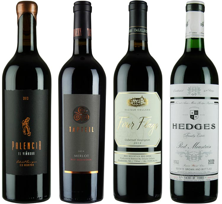 The Allure of Red Mountain Wines