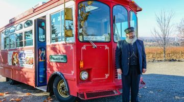 Take A Trolley Wine Adventure In Tri-Cities